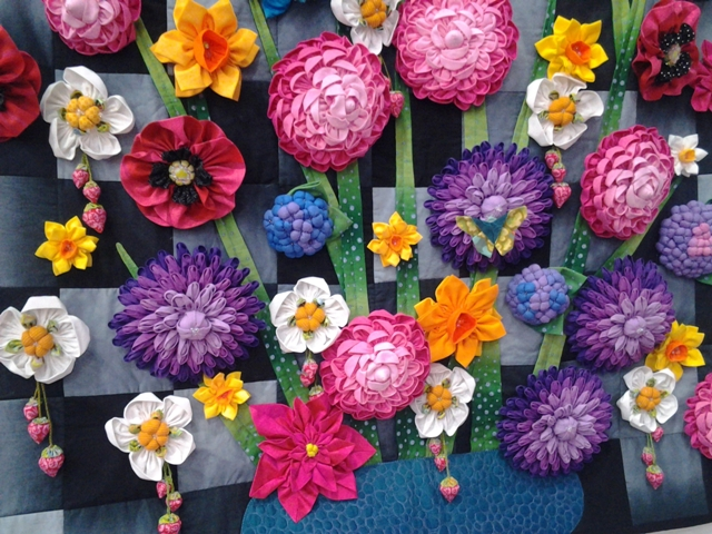 Цветы из ситца своими руками мастер класс 65